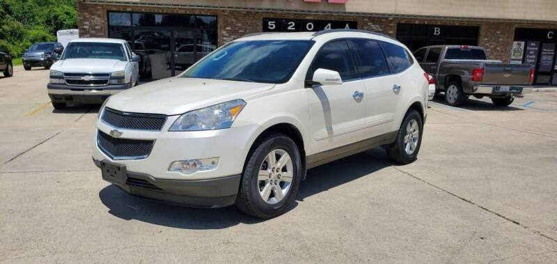 2011 Chevrolet Traverse for sale at WHOLESALE AUTO GROUP in Mobile AL
