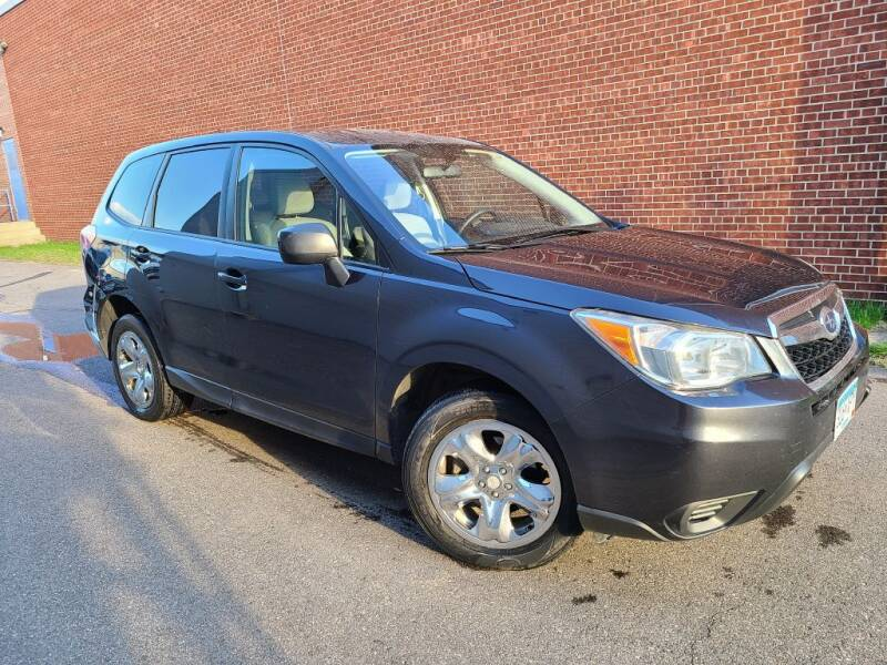 2015 Subaru Forester for sale at Minnesota Auto Sales in Golden Valley MN