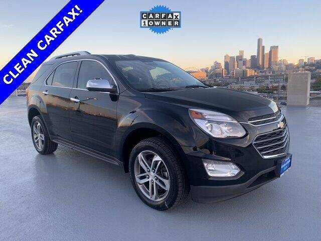 2017 Chevrolet Equinox for sale at Honda of Seattle in Seattle WA