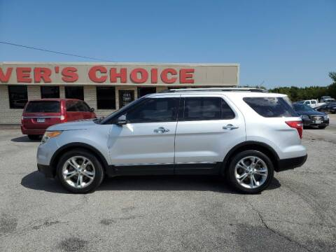 2014 Ford Explorer for sale at Driver's Choice in Sherman TX