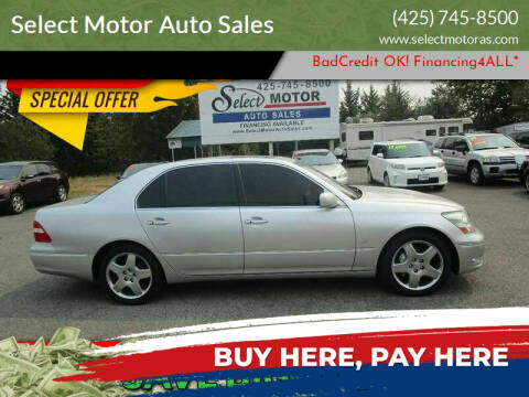 2004 Lexus LS 430 for sale at Select Motor Auto Sales in Lynnwood WA
