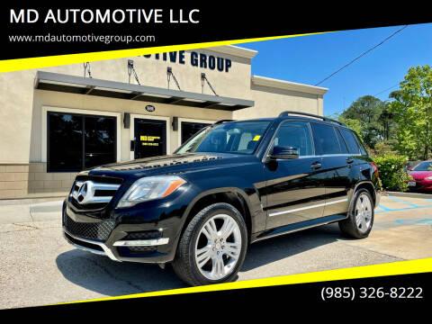 2013 Mercedes-Benz GLK for sale at MD AUTOMOTIVE LLC in Slidell LA