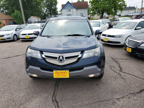 2009 Acura MDX for sale at Brothers Used Cars Inc in Sioux City IA