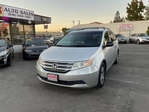 2011 Honda Odyssey for sale at Adams Auto Sales in Sacramento CA
