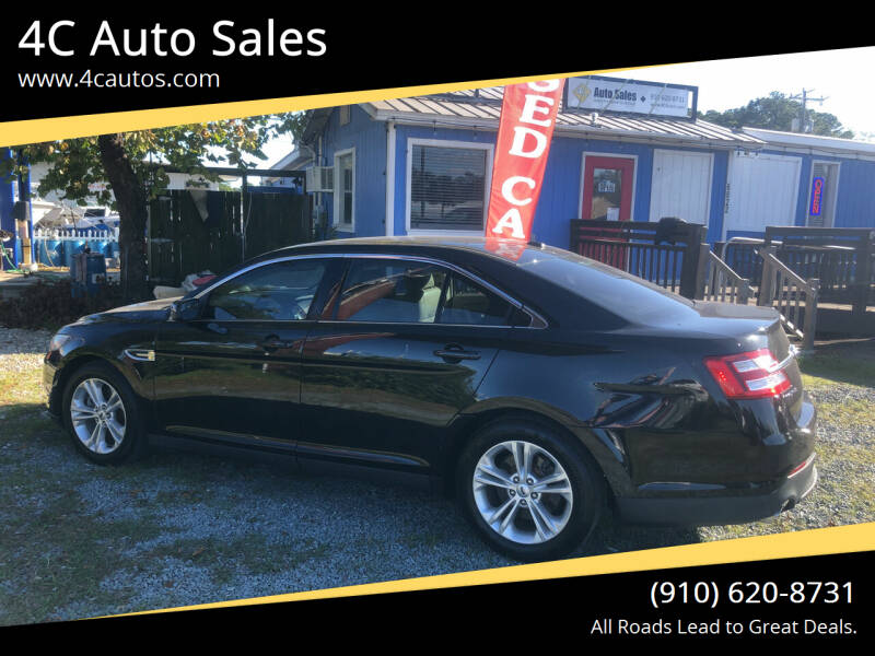 2013 Ford Taurus for sale at 4C Auto Sales in Wilmington NC