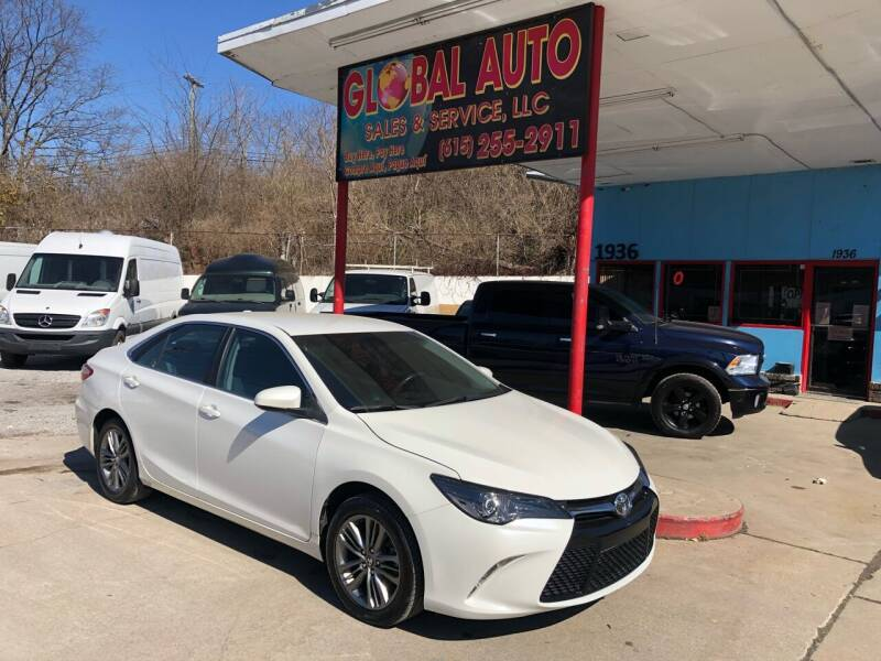 2016 Toyota Camry for sale at Global Auto Sales and Service in Nashville TN