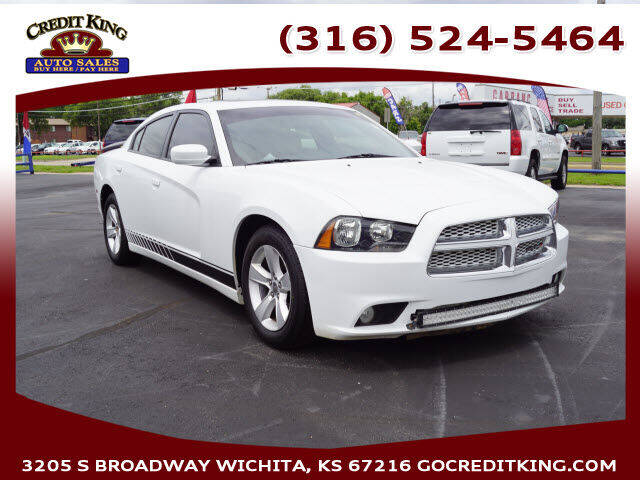 2013 Dodge Charger for sale at Credit King Auto Sales in Wichita KS