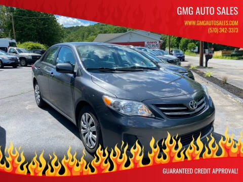 2013 Toyota Corolla for sale at GMG AUTO SALES in Scranton PA