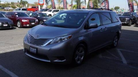 2016 Toyota Sienna for sale at Choice Motors in Merced CA