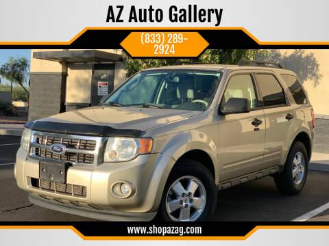 2010 Ford Escape for sale at AZ Auto Gallery in Mesa AZ