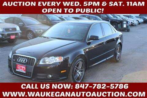 2008 Audi A4 for sale at Waukegan Auto Auction in Waukegan IL