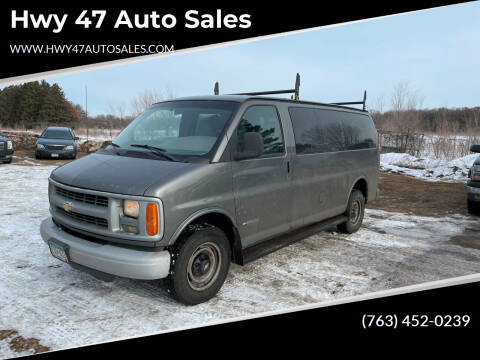 2000 Chevrolet Express Passenger for sale at Hwy 47 Auto Sales in Saint Francis MN