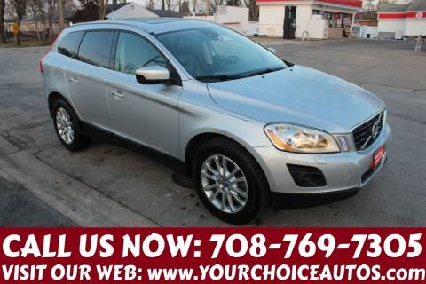 2010 Volvo XC60 for sale at Your Choice Autos in Posen IL