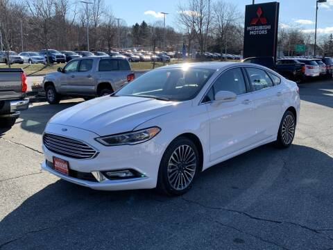 2018 Ford Fusion for sale at Midstate Auto Group in Auburn MA