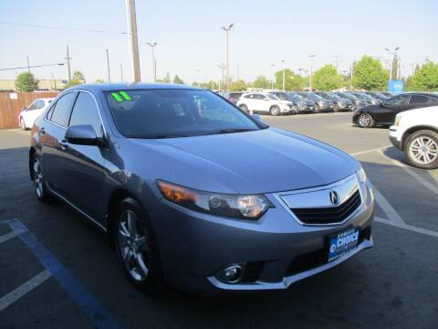 2011 Acura TSX for sale at Choice Auto & Truck in Sacramento CA