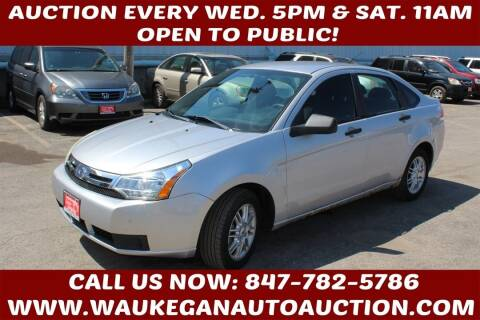 2009 Ford Focus for sale at Waukegan Auto Auction in Waukegan IL