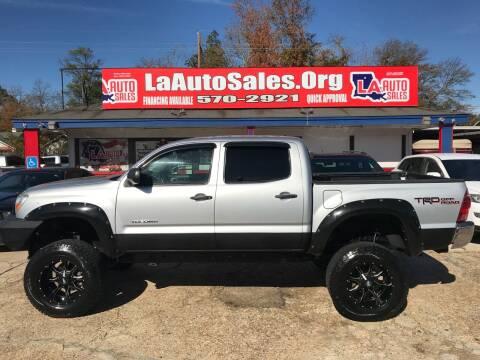 2011 Toyota Tacoma for sale at LA Auto Sales in Monroe LA