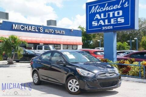 2017 Hyundai Accent for sale at Michael's Auto Sales Corp in Hollywood FL