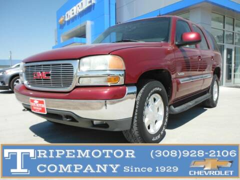 2004 GMC Yukon for sale at Tripe Motor Company in Alma NE