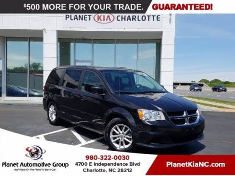 2016 Dodge Grand Caravan for sale at Planet Automotive Group in Charlotte NC