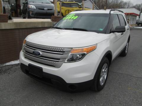 2011 Ford Explorer for sale at WORKMAN AUTO INC in Pleasant Gap PA