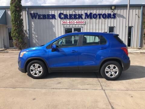 2015 Chevrolet Trax for sale at Weber Creek Motors in Corpus Christi TX