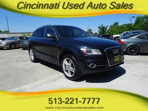 2013 Audi Q5 for sale at Cincinnati Used Auto Sales in Cincinnati OH
