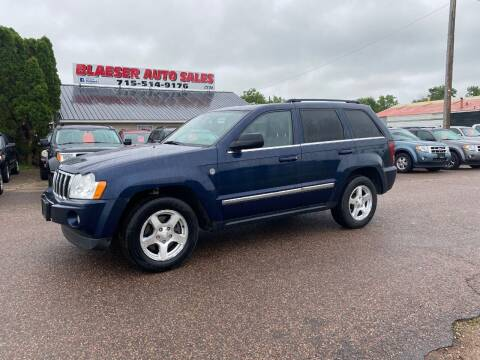 2006 Jeep Grand Cherokee for sale at BLAESER AUTO LLC in Chippewa Falls WI