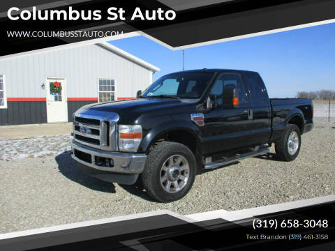 2009 Ford F-250 Super Duty for sale at Columbus St Auto in Crawfordsville IA