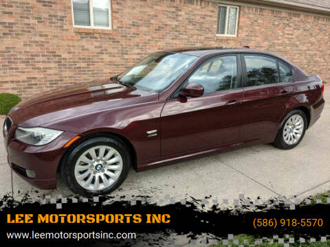 2009 BMW 3 Series for sale at LEE MOTORSPORTS INC in Mount Clemens MI