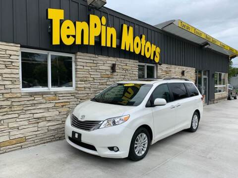 2017 Toyota Sienna for sale at TenPin Motors LLC in Fort Atkinson WI