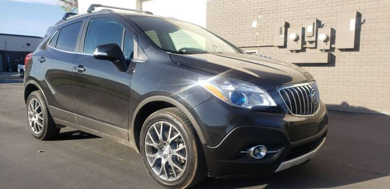 2016 Buick Encore for sale at AUTOMOTIVE SOLUTIONS in Salt Lake City UT