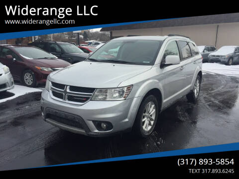 2014 Dodge Journey for sale at Widerange LLC in Greenwood IN