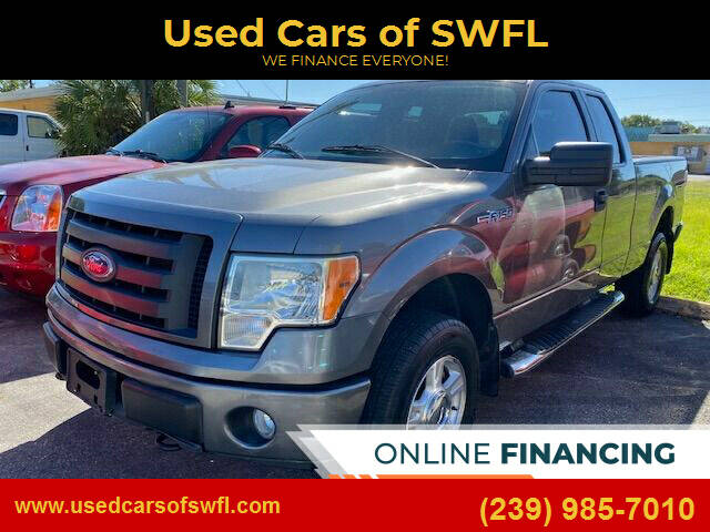 2010 Ford F-150 for sale at Used Cars of SWFL in Fort Myers FL
