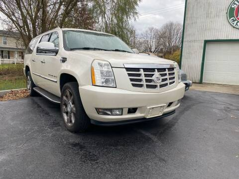 2008 Cadillac Escalade ESV for sale at Auto Exchange in The Plains OH
