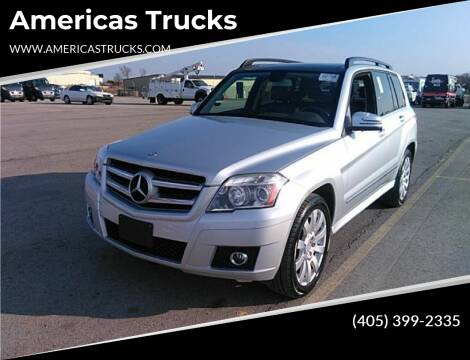 2012 Mercedes-Benz GLK for sale at Americas Trucks in Jones OK
