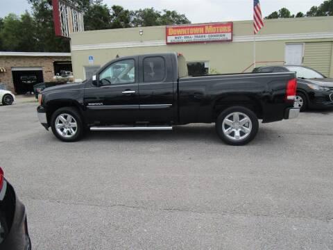 2013 GMC Sierra 1500 for sale at Downtown Motors in Milton FL