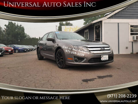 2010 Ford Fusion for sale at Universal Auto Sales Inc in Salem OR