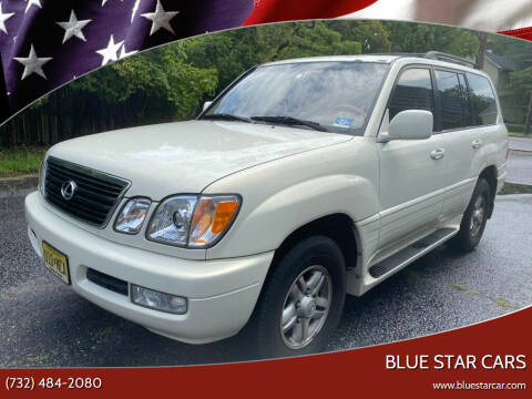 2000 Lexus LX 470 for sale at Blue Star Cars in Jamesburg NJ