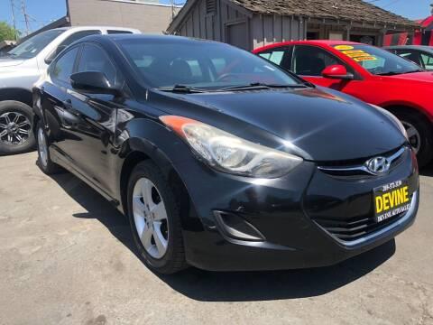 2011 Hyundai Elantra for sale at Devine Auto Sales in Modesto CA