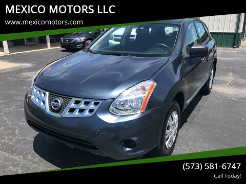 2013 Nissan Rogue for sale at MEXICO MOTORS LLC in Mexico MO