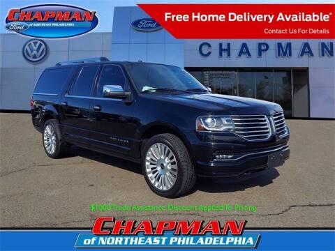 2017 Lincoln Navigator L for sale at CHAPMAN FORD NORTHEAST PHILADELPHIA in Philadelphia PA