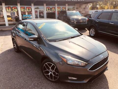 2018 Ford Focus for sale at Daniel Auto Sales inc in Clinton Township MI