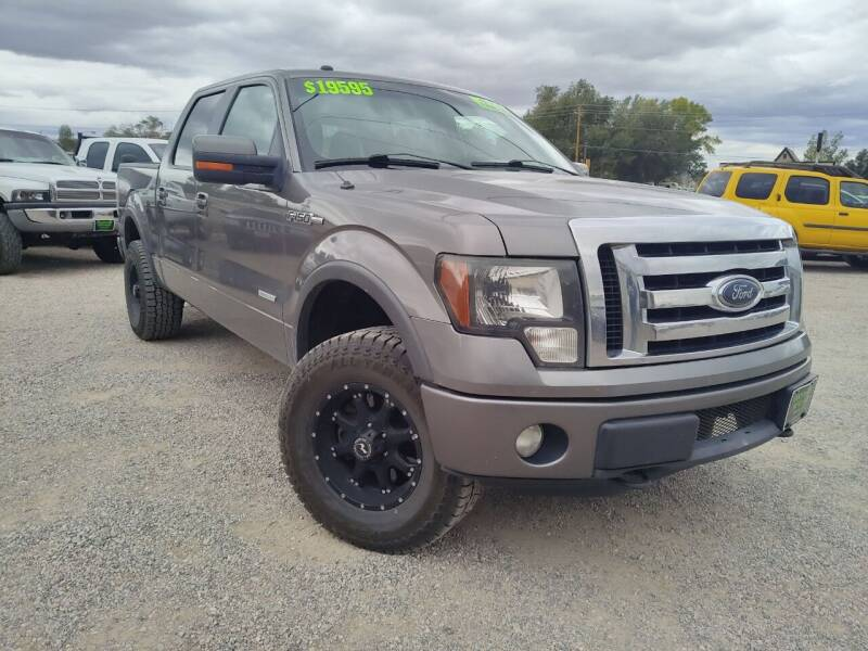 2012 Ford F-150 for sale at Canyon View Auto Sales in Cedar City UT