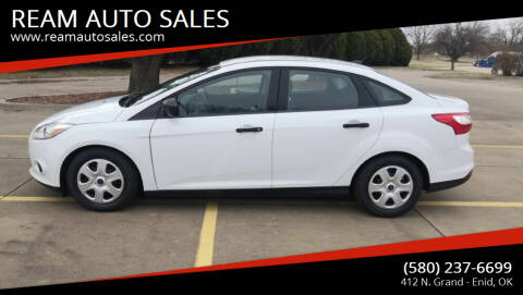 2014 Ford Focus for sale at REAM AUTO SALES in Enid OK