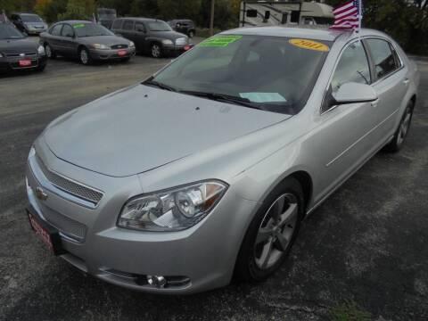 2011 Chevrolet Malibu for sale at Century Auto Sales LLC in Appleton WI