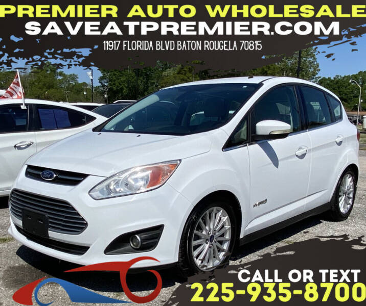 2013 Ford C-MAX Hybrid for sale at Premier Auto Wholesale in Baton Rouge LA