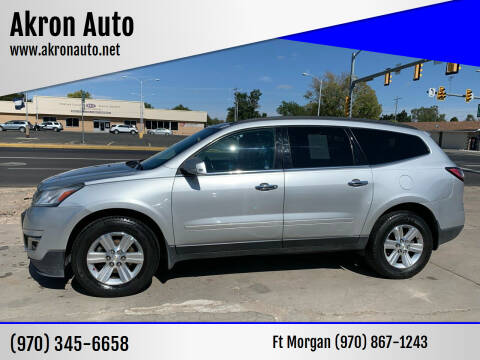 2013 Chevrolet Traverse for sale at Akron Auto in Akron CO