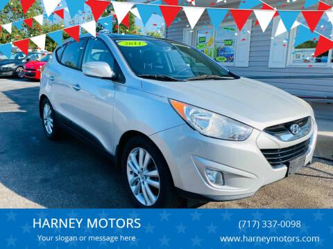 2011 Hyundai Tucson for sale at HARNEY MOTORS in Gettysburg PA