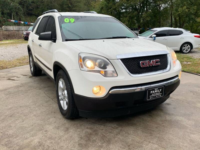 2009 GMC Acadia for sale at Day Family Auto Sales in Wooton KY